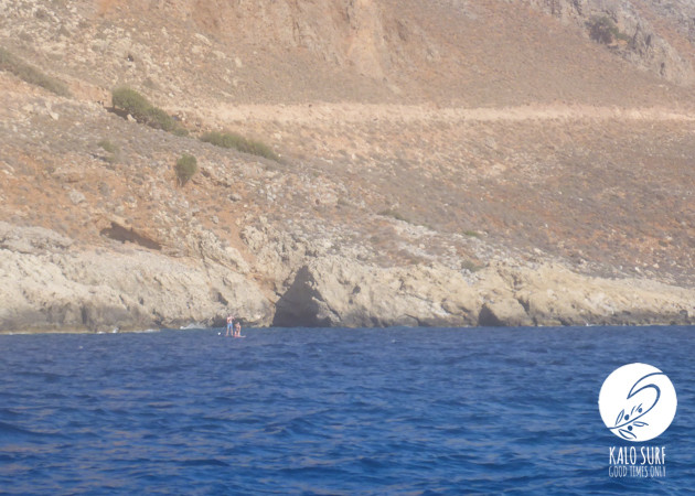 Stand up Paddling along the Bay of Kissamos