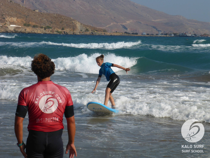 Week No 30 - Surfing Crete with Kalo Surf, the Good Surf