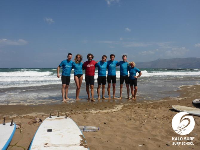 This is Sparta! Surfing in Crete