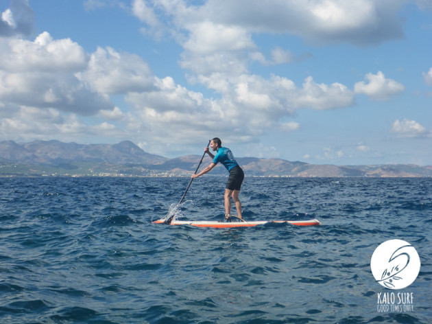 Stand up Paddling in Griechenland mit Kalo Surf