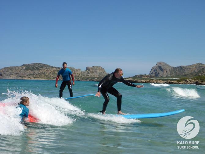 KW 20 - Wellenreiten im Westen Kretas