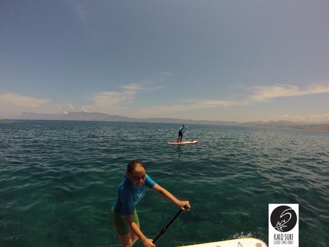 Paddle Boarding in Crete