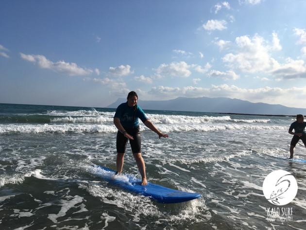 Surfing in Kissamos