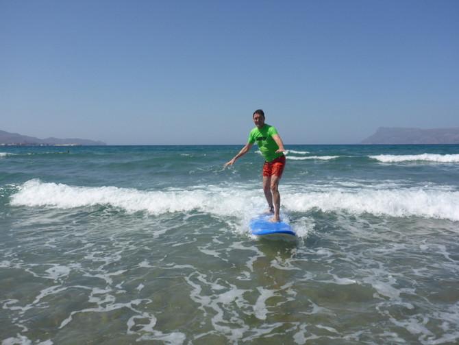 Sun Kissed Cretan Surf