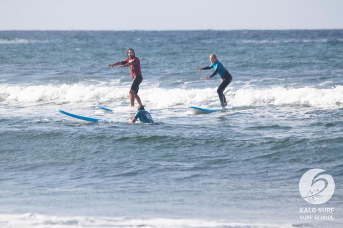 Wellenreiten am Reefbreak von Falassarna