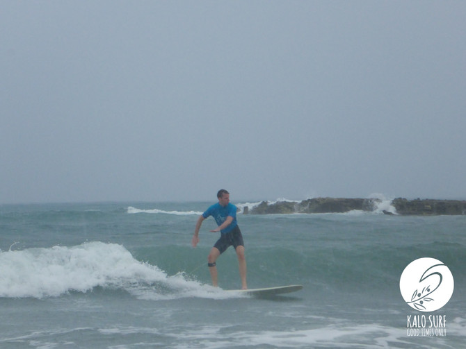 The Swell arrived in Kissamos!