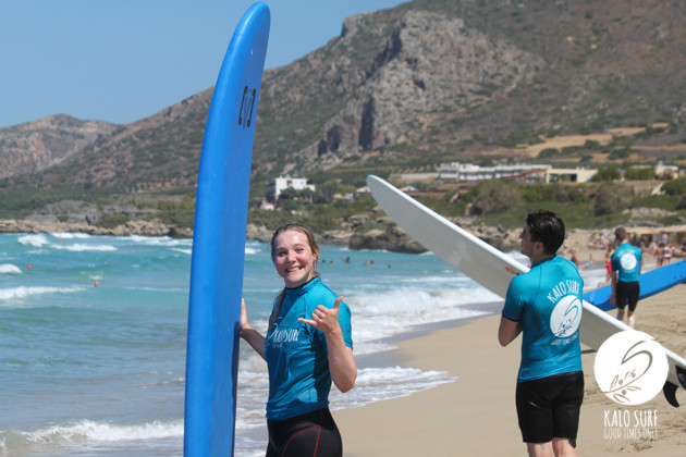 Happy faces after surf session