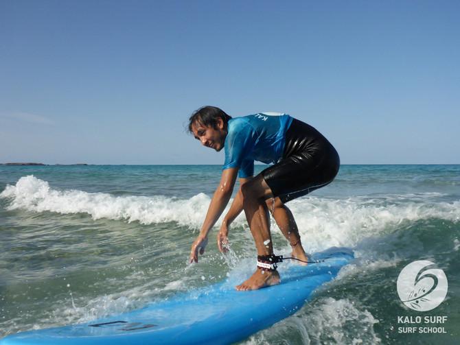 Super Sunny October Surfing