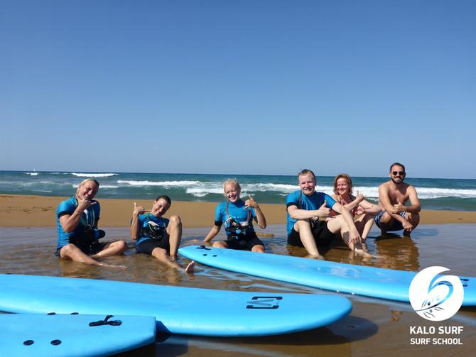 Surf lesson in Chania Region, Crete