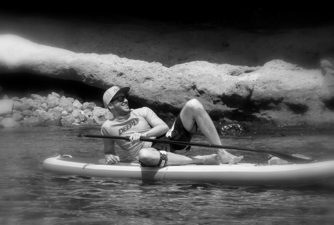 SUP-Excursion ancient Greek style with Kalo Surf