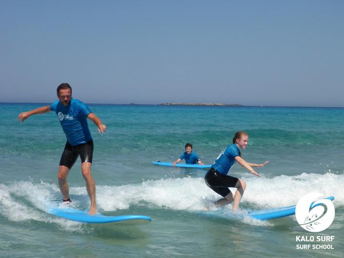 Happy August - Surfing in Crete