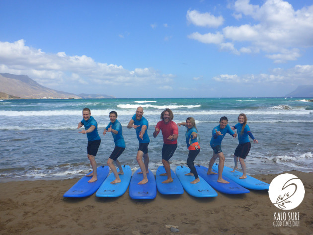 And here we go again - Surfing in Crete
