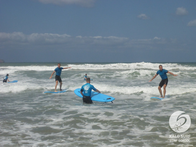 Plenty to Learn during the Surf Lesson in Crete