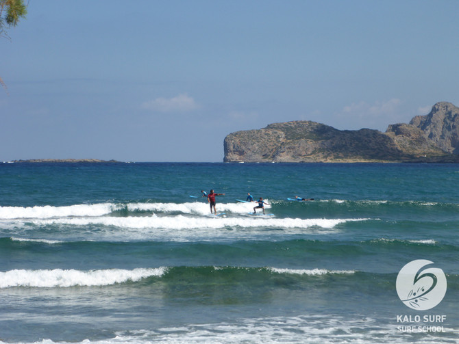 Week No 22 - Surfing Lessons in Greece