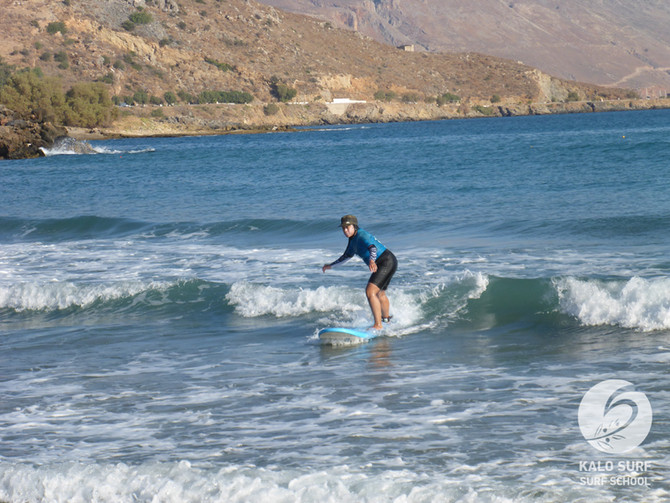 Week No 33 - Surf Courses in August in Crete, Greece