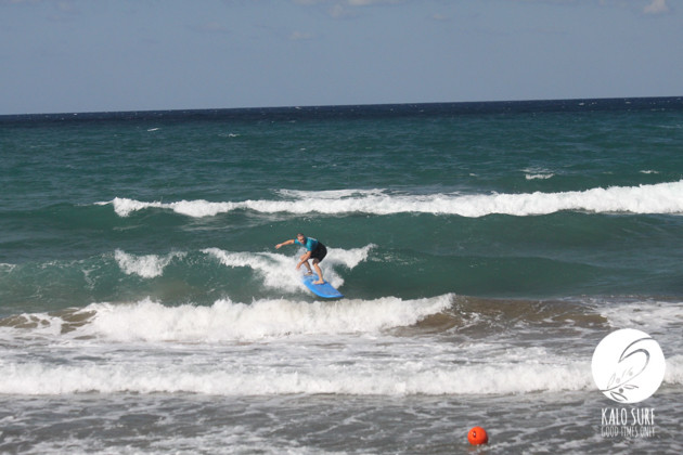 Surfing in Kissamos with Kalo Surf