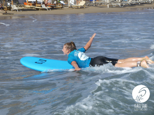 surfing, exercise, bay of Kissamos