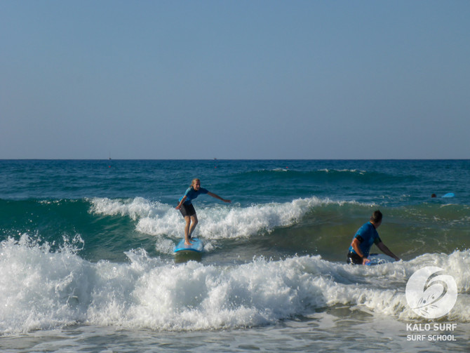 Week No 34 - Surfing in Crete in August with Kalo Surf