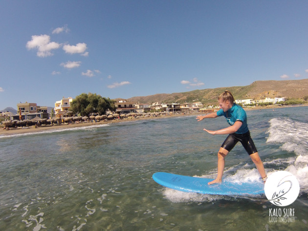 Early Surf in Kissamos with Kalo Surf