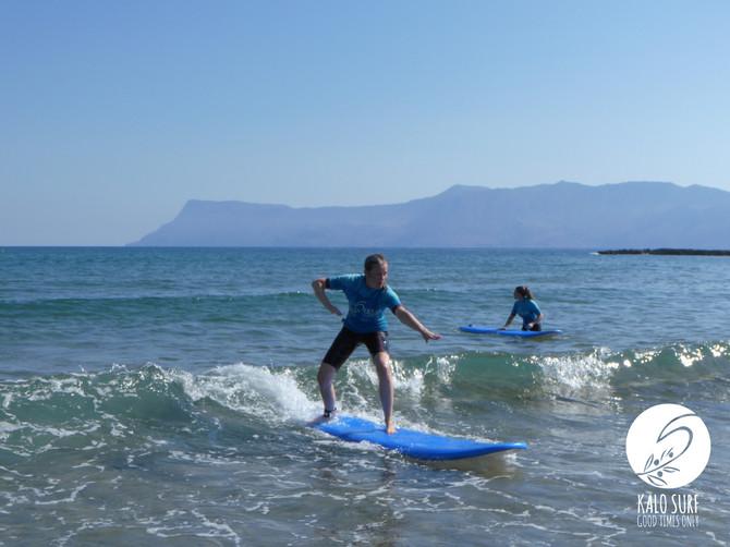 Surfergirls of Kissamos - Kalo Surf Experience