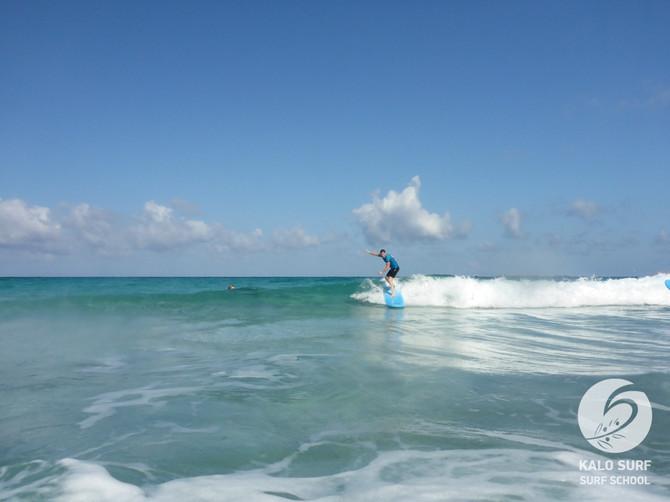 Week No 29 - Surfing in the Mediterranean Sea