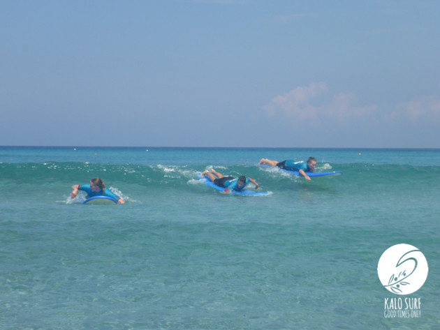 Exclusive Women's Surf Lesson in Falassarna