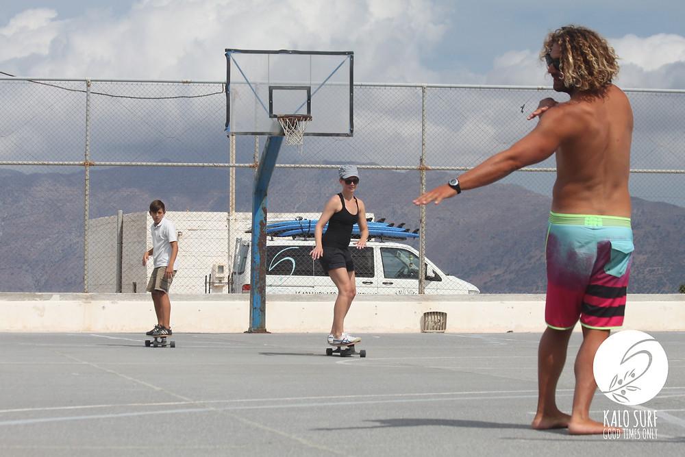 Skaten in Kissamos