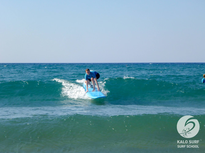 Week No 28 - Surf Lessons Mid July in Greece