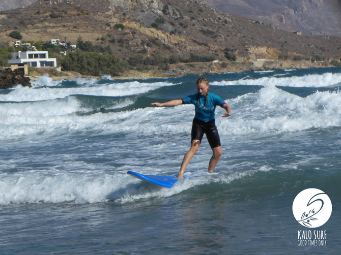 Catching waves on Crete - Kalo Surf Experience