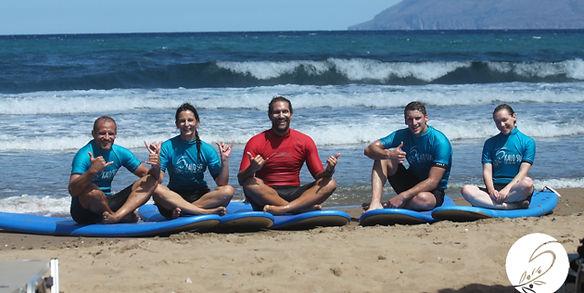 Surfschool Crete Greece