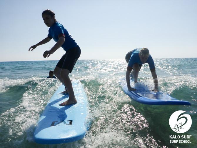 What a Thrill - Surfing in Crete