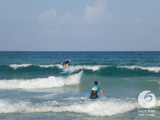 Week No 35 - Surfing into September in Crete
