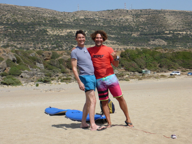 Green Waves - Learn How to Surf in Crete