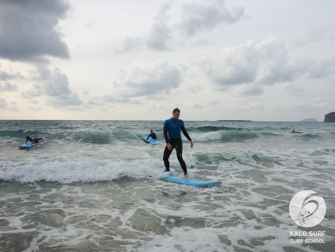 Surfing Lessons in Crete with Kalo Surf of the Week 2 - 8 November 2020