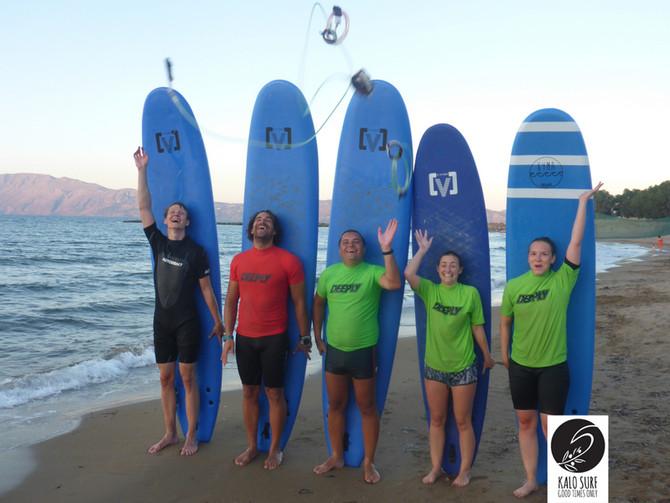 Graduation from Kalo Surf Surfschool