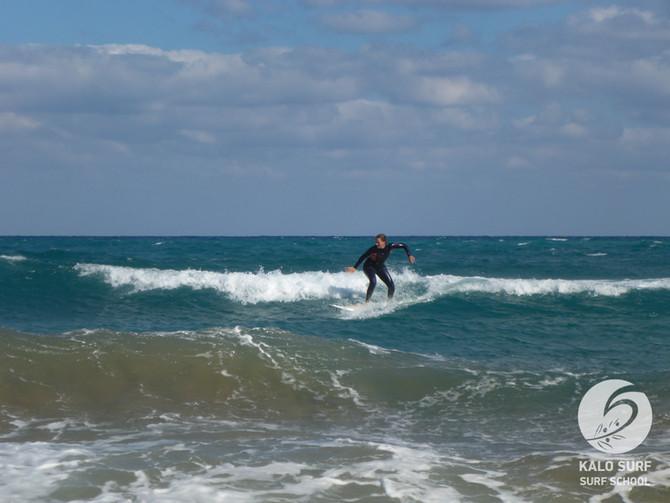 Surfing Week No 40 - Surfing in October in Greece