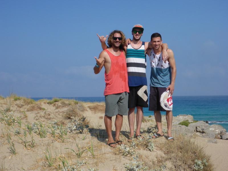 Kalo Surf Gang at early bird Crete