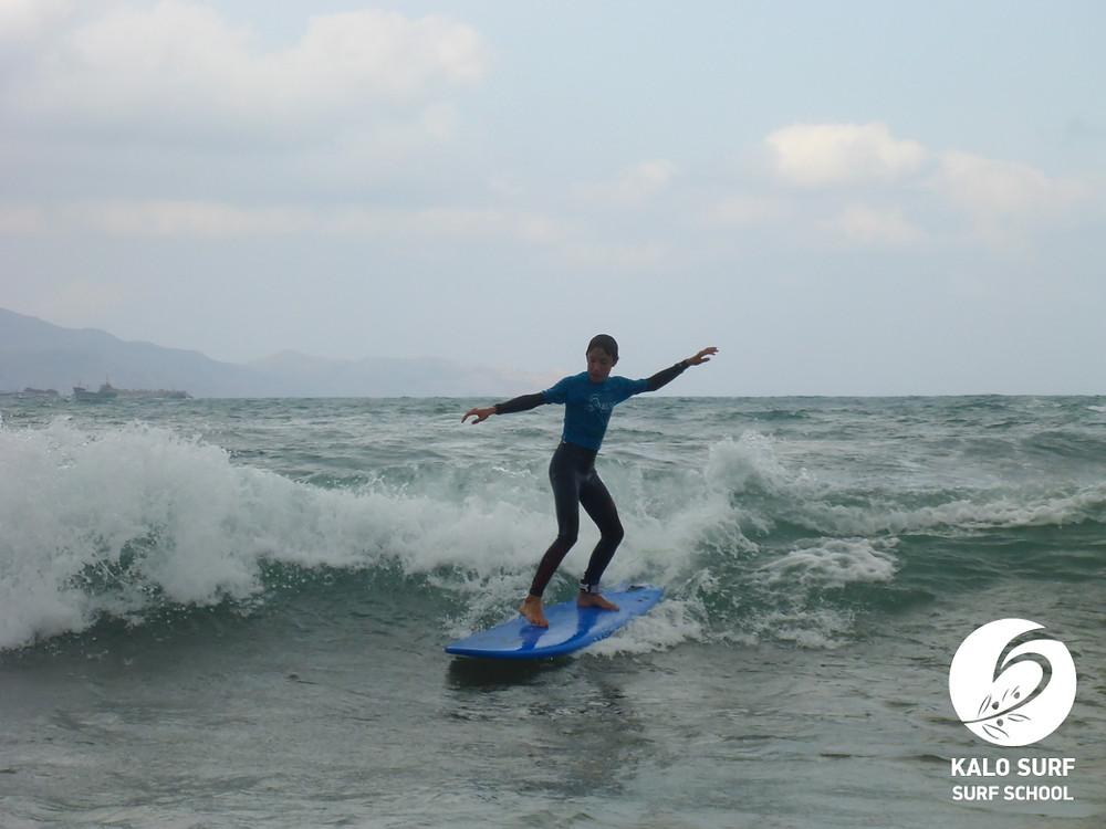 surfboard, Crete, waves
