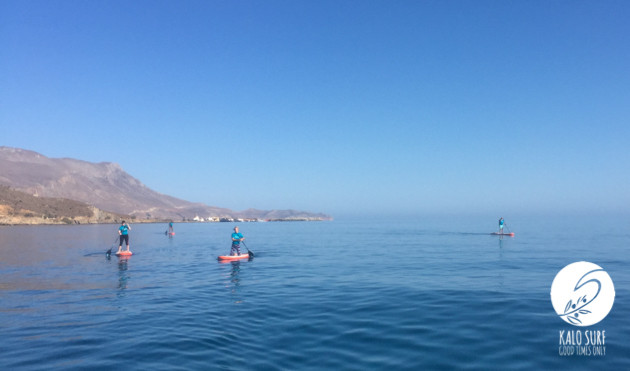Stand Up Paddling in Beautiful Kissamos