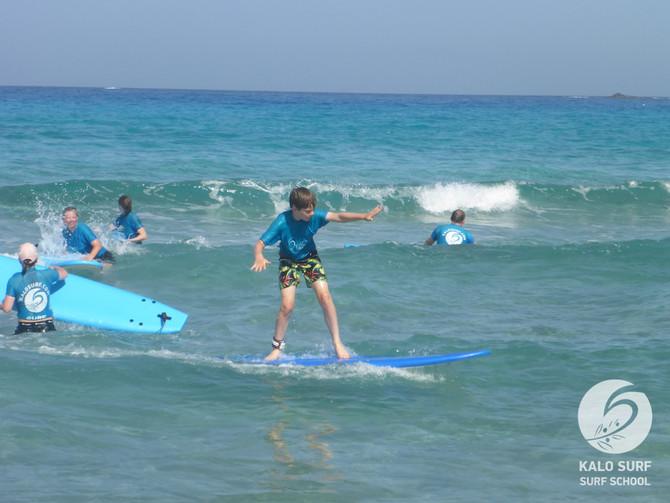 Week No 26 - Surfing in Crete in July