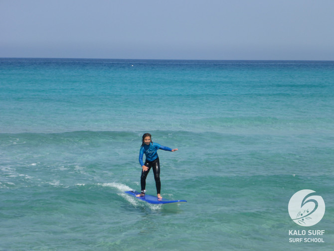 Week No 25 - Learn how to surf in Crete