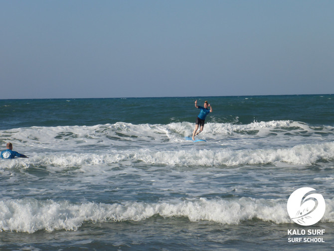 Back to Kissamos - Surfing in Crete