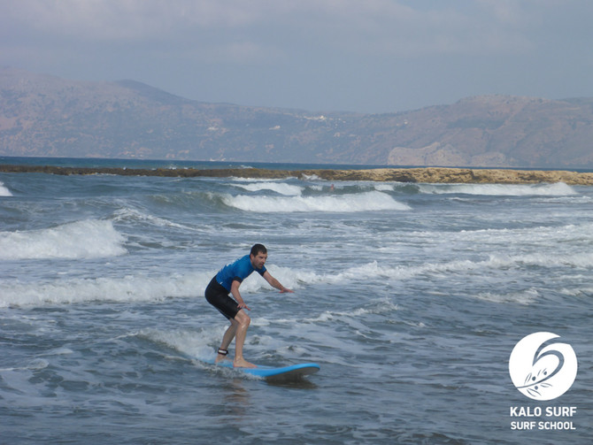 Morning and Afternoon Surf Lessons in Crete