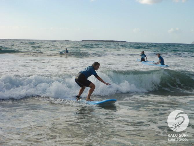 Surfkurs im Oktober am Beachbreak von Falassarna