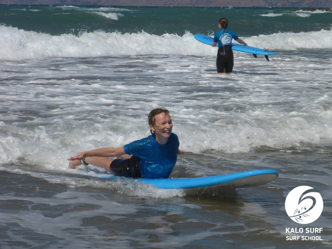 Surf and Yoga in Kissamos Crete
