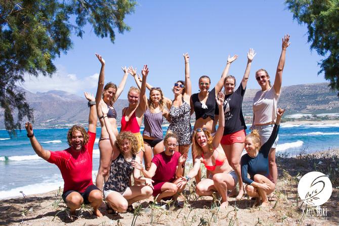 Trust your Flow Yoga Retreat mit Kalo Surf