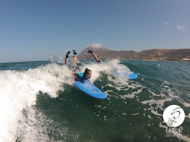 Surfkurs am Riff mit Kalo Surf