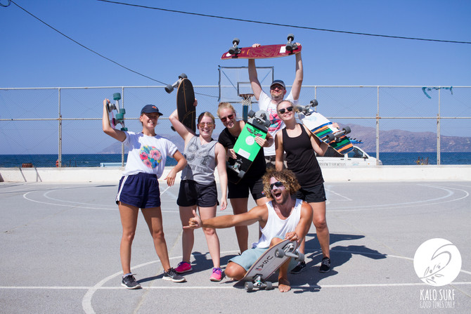 Surf and Skate in Kissamos with Kalo Surf