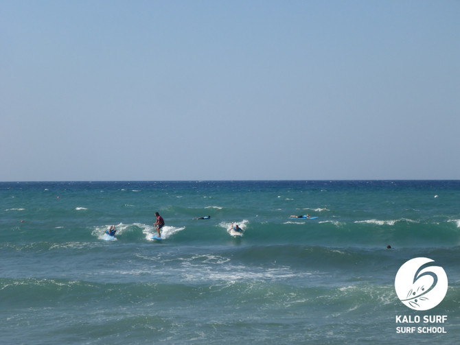 Big Waves in and Surf Carousel in Kissamos