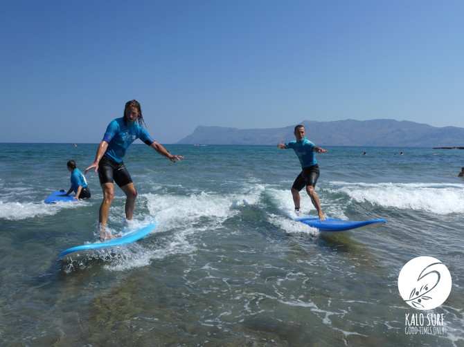 Beach Attraction in Kissamos - Kalo Surf surf lesson